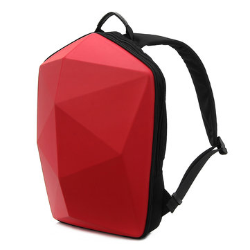 Men Polygon Travel Bag Solid Casual Backpack фото