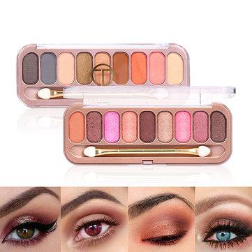 O.TWO.O 9 Colors Eyeshadow Palette