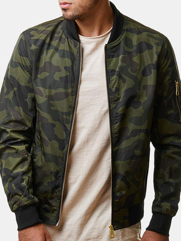 Men's Military Camouflage Casual Jacket