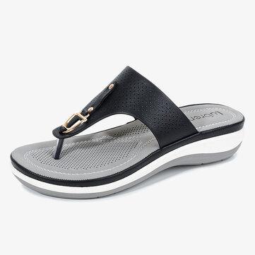 Frauen bequeme Strand Flip Flops