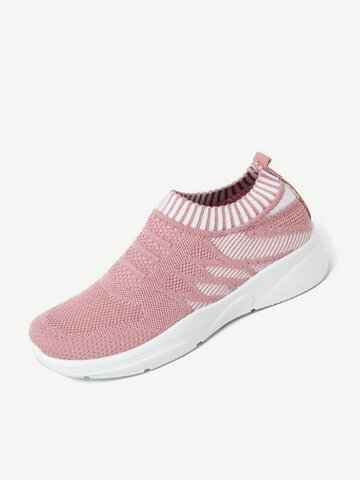 Atmungsaktive Mesh Slip On Sneakers