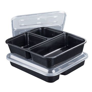 10 Meal Prep Disposable Box Lunch BPA Free