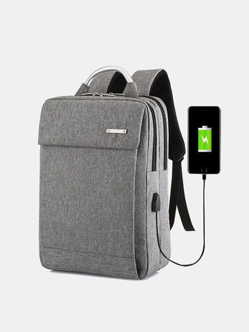 Classic Business Backpacks 17L Capacity Students Laptop Bag