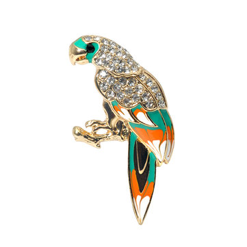 Colorful Parrot Gift Brooches фото