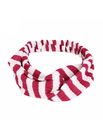 Elastic Stripe Headband  Yoga Turban Headband  Hair Band