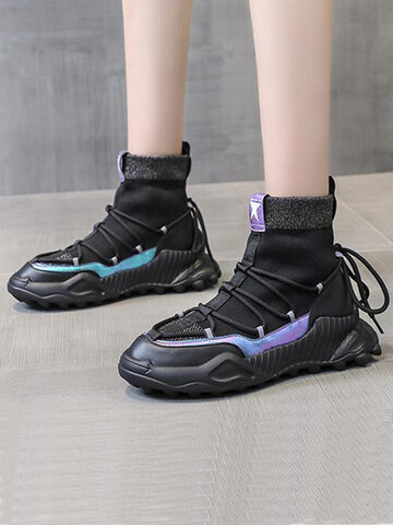 High Top Casual Modern Running Shoes