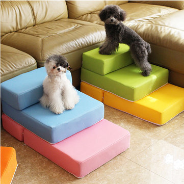 Folding Portable 2-Steps Dog Cat Pet Stairs