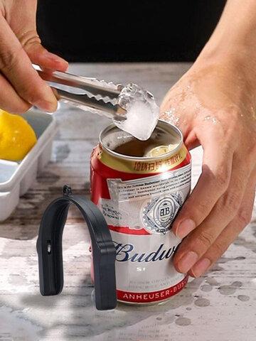 1 PC Tragbarer Multifunktions-Edelstahl U-förmiger Handheld Easy Pull Can Bier Getränke Canifer