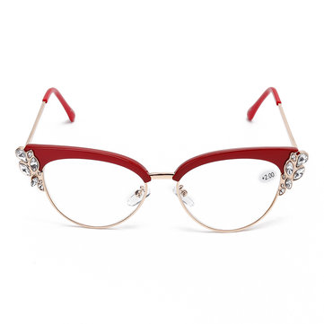 Unisex Elegant Metal Frame Reading Glasses