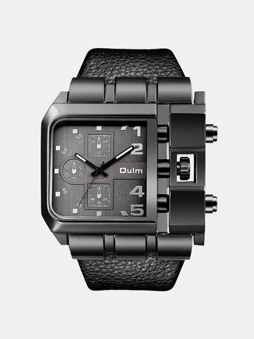 Square Large Dial Watch