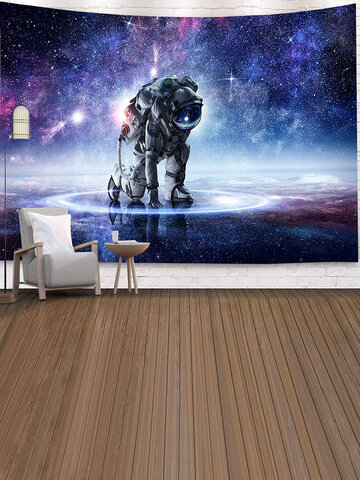 Astronaut Tapestry Wall Art Psychedelic Tapestry Bedroom Home Curtain Tapestry Wall Tapestry