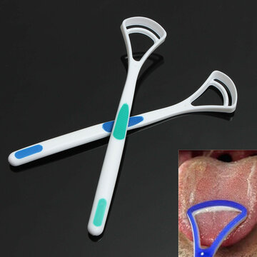 2Pcs Tongue Cleaner Brush