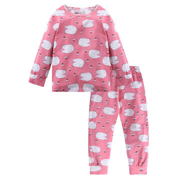 Cartoon Girls Pyjama Set Pour 2Y-7Y