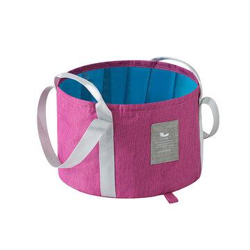 Folding Washing Foot Bucket Bag