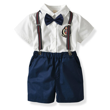 4Pcs Boys Formal Sets For 1Y-9Y