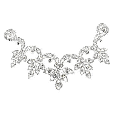 Crystal Rhinestone Applique