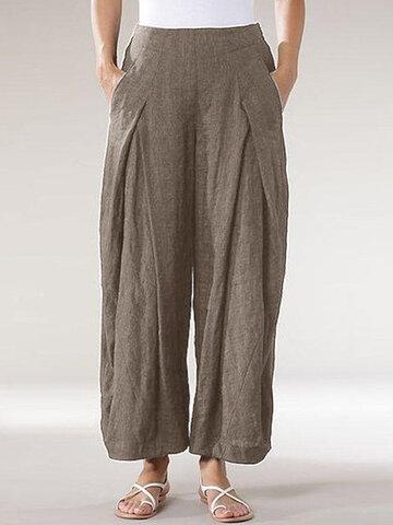 Elastico in vita vintage Pantaloni