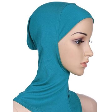 Women Modal Cotton Solid Breathable Muslim Hijab Islamic Scarf Muslim Headscarf