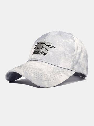 Unisex Tie-dye Embroidery Baseball Cap