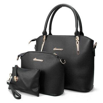 3PCS Casual Tote Handbags