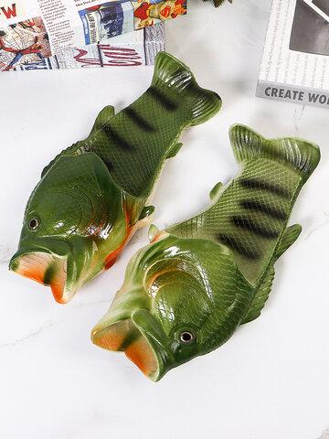 Funny Fish Shape Beach Slidders
