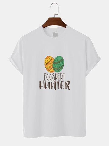 100% Cotton Easter Eggs T-Shirt