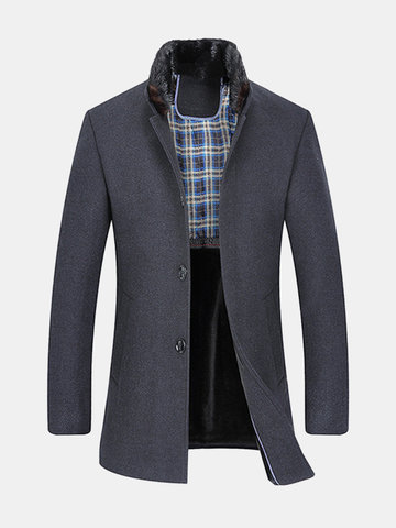 Mid Long Wool Coats