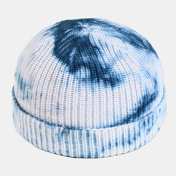 Men & Women Round Top Warm Melon Brimless Beanie Skull Hat