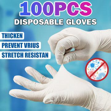100 gants jetables en PVC