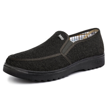 Men Old Peking Style Fabric Casual Shoes