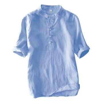 100% कपास चीनी शैली विंटेज टी शर्ट्स