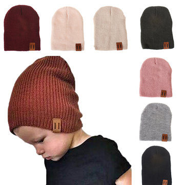 Soft Knit Kid's Cotton Beanie Cap For 1-5 Years