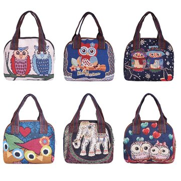Owl Lunch Box Bag
