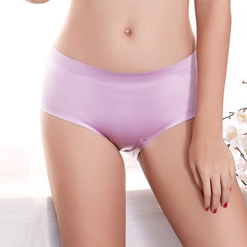Hip Lifting Breathable Seamless Stretchy Panties, Purple black wine red deep blue nude red gray pink