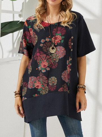 Vintage Flowers T-shirt
