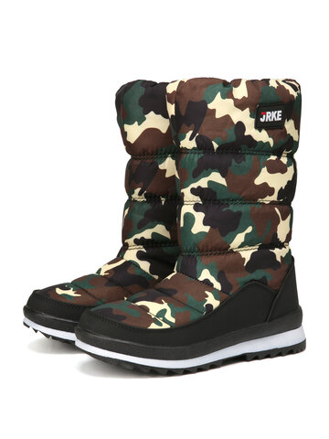 Casual Warm Mid-Calf Snow Cotton Boots