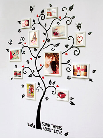 45X60CM Household Composite Photo Wall Stickers Tree Of Happiness Stickers