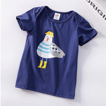Unisex Printed Kids Summer Tees