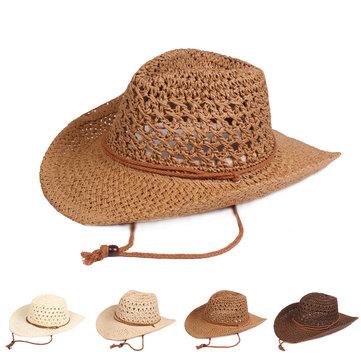 نسج الصلبة Classic قبعة رعاة البقر