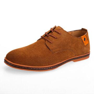 पुरुष चमड़े गैर पर्ची आरामदायक जूते
