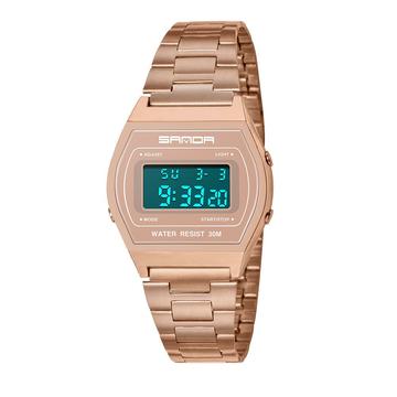 Reloj de pulsera impermeable digital de moda