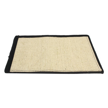 40 * 30cm Pet Cat Kitten Scratching Mat Pad Board Sisal Scratcher Wrap Pole Toy