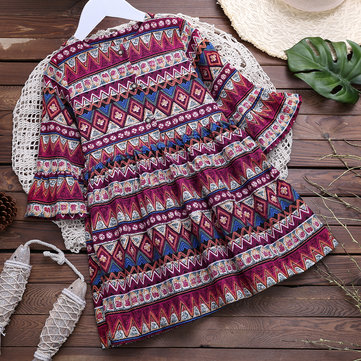 Bohemian Style Girls Dresses For 2Y-11Y