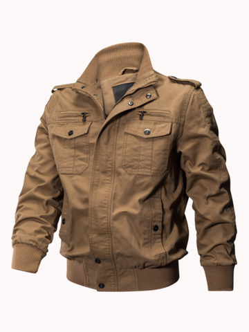 Outdoor Tactical Washed Military Jackets