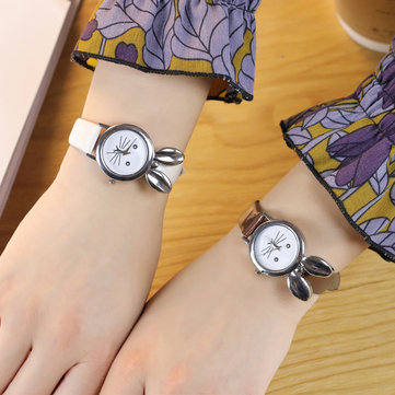 Cute Style Rabbit Ear Ladies Wrist Watch