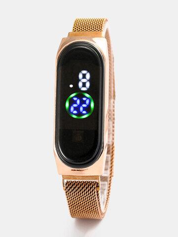 चमकदार सेंसर इलेक्ट्रॉनिक घड़ी