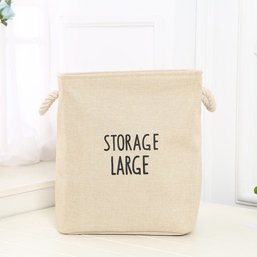 Thickened Double Layer Laundry Storage Basket