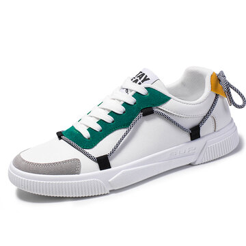 Men Comfy White Sneakers