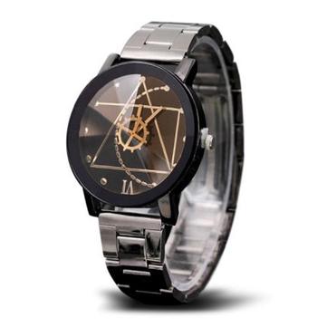 Relógios de quartzo de roda de engrenagem na moda