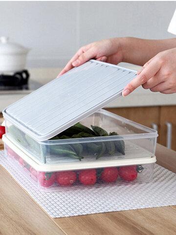 Plastic Transparent Single-Layer Sealed Box